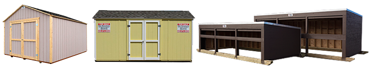 Custom Sheds, Barns, Feeders