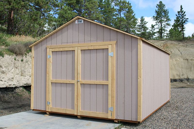 Custom Storage Sheds & Portable Sheds from Star Structures in Miles City Montana
